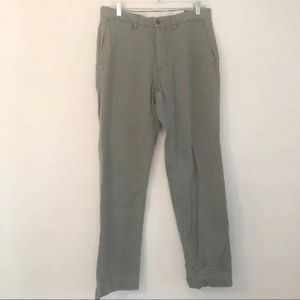 Polo Men's Classic Fit Chinos Gray Size 32/32